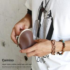 483a9c653a6e 【Camino/カミノ】国産/日本製/本革/牛革レザーラウンド