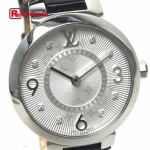 f7dfb2c177cd あす着ルイ・ヴィトン Q12MG5 タンブールモノグラムPM モノグラム・ヴェルニ 腕時計