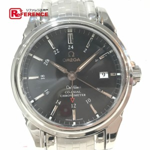 new concept d4d16 9d6b6 あす着 OMEGA オメガ 4533.51 デビル コーアクシャル デイト クロノメーター 腕時計 シルバー au Wowma!(ワウマ)
