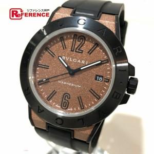12aa28180d7c あす着 BVLGARI ブルガリ DG41SMC ディアゴノ メンズ腕時計 腕時計 ブラック