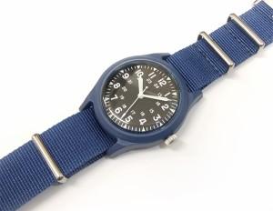 1d81584a78 アルファ ベトナムウォッチ ALW-46374 ALPHA 腕時計 メンズ ミリタリーウォッチ ブラック×ブルー 新品