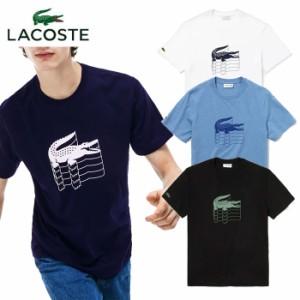 ラコステ LACOSTE 3DロゴプリントクルーネックTシャツ 半袖 メンズ TH4235L