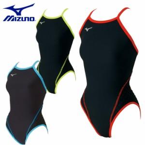 【レディース】ミズノ mizuno 競泳練習用エクサースーツWD ミディアムカット N2MA7776 練習用水着 女性