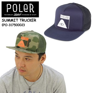 df61546932866 ポーラー(POLeR)SUMMIT TRUCKER キャップ 帽子 男性用  16