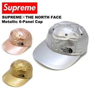 【送料無料】シュプリーム×ザ・ノース・フェイス(SUPREME)Metallic 6-Panel Cap キャップ/帽子[BB]