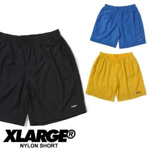 エクストララージ(X-LARGE) NYLON SHORT ナイロンショートパンツ/ハーフパンツ/半ズボン/メンズ【10】[AA]