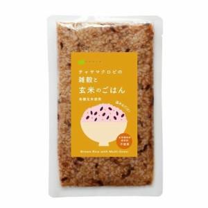 CHAYA(チャヤ) マクロビオティックス レトルトご飯 雑穀入り玄米ごはん(160g) 【チャヤ マクロビオティックス】