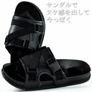 c5c63e5993ce59 サンダル メンズ シャワーサンダル シューズ 靴 スポーツサンダル ストリート ミリタリー 送料無料 ALI 7992486 ブラック 黒