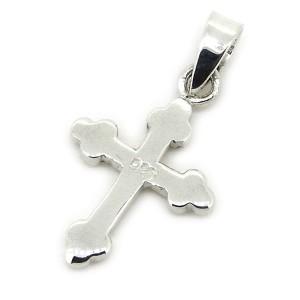 ペンダント ネックレス シルバートップ ミニクロス ペンダント ネックレス クロス 十字架 シルバー925 Silver925 sme