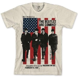 The Beatles Are Coming Tシャツ Small Size ビートルズ 新品