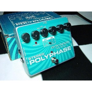 Electro Harmonix エフェクター Stereo Poly Phase ステレオ ポリ フェイズ Phaser フェイザー ギター用