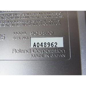 中古 Roland ローランド サウンドモジュール SC-8820 / SC 8820 音源モジュール シンセサイザー トーンジェネレーター