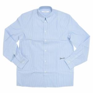 31f819c4edeca GIVENCHY ジバンシー メンズポプリンシャツ BM607Q1Y5G ブルー  2019春夏 ...