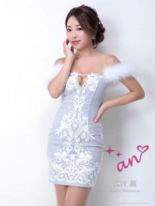 an ドレス AOC-3007 ワンピース ミニドレス Andyドレス アンドレス キャバクラ キャバ ドレス キャバドレス