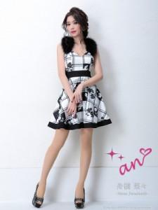 an ドレス AOC-3025 ワンピース ミニドレス Andyドレス アンドレス キャバクラ キャバ ドレス キャバドレス