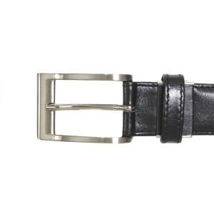ベルト / メンズ / 本革 / 日本製 ブラック (黒色) (di-020BK) 30mm [牛革][レザー][バックル][ビジネスベルト][サイズ調節可能]