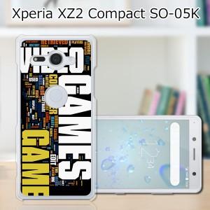 docomo Xperia XZ2 Compact SO-05K ハードケース/カバー 【GAMES PCクリアハードカバー】