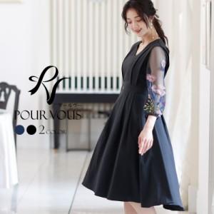 3435 ワンピース 結婚式 パーティードレス フォーマルドレス ドレス お呼ばれ フォーマル 大きいサイズ 服装 大人 服 ミセス 成人式 上品