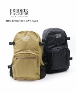 【正規品・新品】フレドリックパッカーズ デイパック バックパック リュック エフェクティブデイパック 210D EFFECTIVE DAY PACK FREDRIK