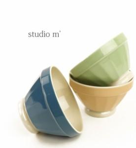 studio m'(スタジオエム)磁器 カフェオレ ボウル クープ ドゥ ボル・COUPDEBOL-2731402    レディース 女性 誕生日プレゼント ギフト 正