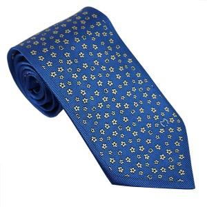 e484f901d062 ミラショーン ネクタイ AW2015モデル 11406color2 ブルー 小紋 青 mila schon 人気 ブランド