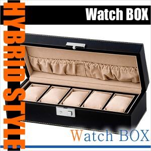コレクションボックス 腕時計ケース Collection Box コレクションケース 時計ケース [時計/腕時計] SP-80048LBK