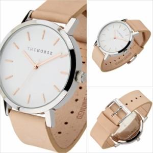 ザ ホース腕時計 THE HORSE時計 THE HORSE 腕時計 ザ ホース 時計 オリジナル THE ORIGINAL メンズ/レディース/ホワイト ST0123-A8