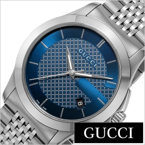 b493bc0a2ed2 グッチ腕時計 GUCCI時計 GUCCI 腕時計 グッチ 時計 Gタイムレス G Timeless メンズ/ブルー YA126481