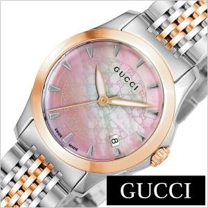 b53b9386b556 グッチ腕時計 GUCCI時計 GUCCI 腕時計 グッチ 時計 Gタイムレス G Timeless レディース/ピンク YA126536