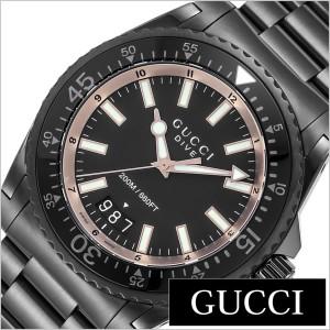 c1cbb300b403 グッチ 腕時計 GUCCI 時計 ダイブ シリーズ DIVE メンズ ブラック YA136213