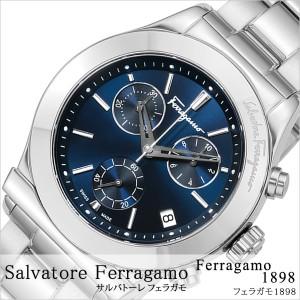 f464628e35 Salvatore Ferragamo 腕時計 サルバトーレフェラガモ 時計 フェラガモ1898 Ferragamo1898 メンズ ブルー  FH6020016