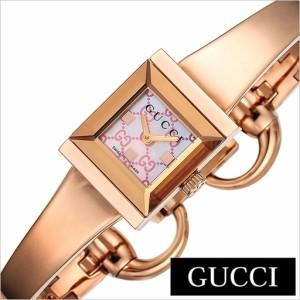 3efbb6f903ae グッチ腕時計 GUCCI時計 GUCCI 腕時計 グッチ 時計 Gフレーム G-FRAME レディース ピンク YA128518