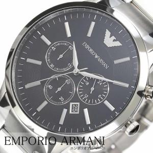 953b16674c EMPORIO ARMANI 腕時計 エンポリオ アルマーニ 時計 スポルティボ SPORTIVO メンズ 男性 夫 ブラック AR2460