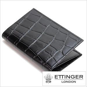 【送料無料】【送料無料】エッティンガーロンドン財布 ETTINGER LONDONカードケース  BRIDLE HIDE BILLFOLD /メンズ/143JR-EBONY
