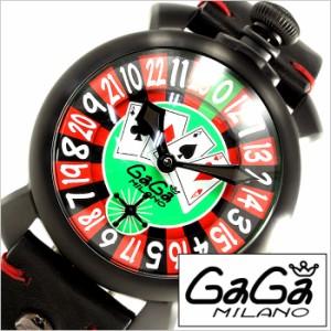 GaGaMILANO時計 ガガミラノ腕時計 GaGa MILANO ガガ ミラノ 時計 マヌアーレ48mmラスベガス MANUALE48MMLASVEGAS GG-5012LAS