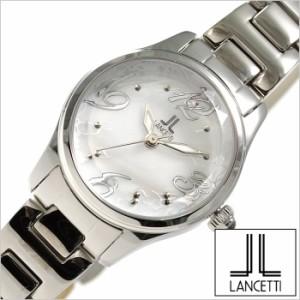 429684b6ac [正規品]LANCETTI時計 ランチェッティ腕時計 LANCETTI ランチェッティ 時計 LT-6203S-WH