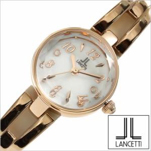 8f902e12aa [正規品]LANCETTI時計 ランチェッティ腕時計 LANCETTI ランチェッティ 時計 LT-6204R-WH