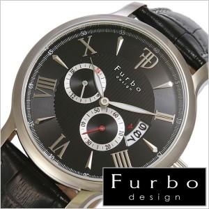[正規品]Furbodesign腕時計[フルボデザイン時計]Furbo design フルボ デザイン 時計 F5028SBKBK