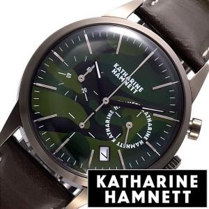 ddc753384d キャサリンハムネット腕時計 KATHARINEHAMNETT時計 KATHARINE HAMNETT 腕時計 キャサリン ハムネット 時計  クロノグラフ 6