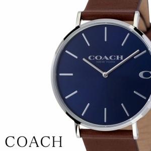 6f786debc5aff1 コーチ 腕時計 COACH 時計 COACH腕時計 コーチ時計 腕時計コーチ チャールズ Charles メンズ ネイビー CO-