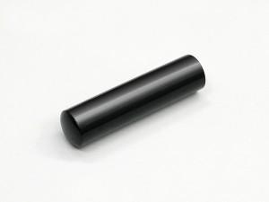 【送料無料 ポイントアップ】個人印鑑 黒水牛 10.5〜15.0mm chotoku【メール便発送】 【wk020】
