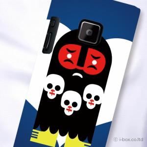 P-04D/P-05D Disney Mobile 102P プリント布ケース★クール☆p05d_f13_576