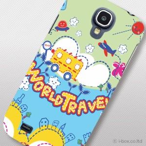 SC-04E Galaxy S4/ギャラクシー プリント布ケース★ラブリー/sc04e_a31_568