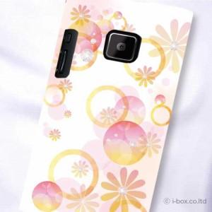 P-04D/P-05D Disney Mobile 102P ハードケース★フラワー☆p05d_a36_545