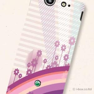 SO-05D Xperia SXケースやわらかなソフトケース【docomo】【casemart】★フラワー☆so05d_t11_545