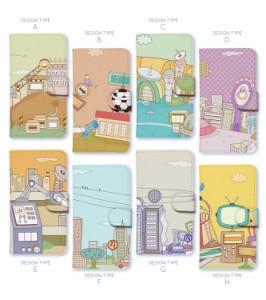 スマホケース 手帳型 カバー 全機種対応 iPhone XS Max XR アイフォン 8 android xperia z5 au ユニーク smart_di613_all
