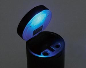 星光産業:灰皿 ダブル火消し穴 モミ消しスリット付/ED-140