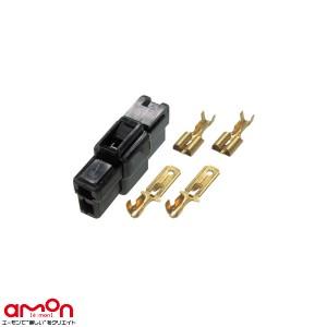 メール便可|エーモン/amon 2974 端子/分岐パーツ カプラー2極(ロック式) 配線コードの一括接続に 3セット