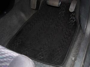 シーエー:フロアーマット ピタマット 黒 ブラック Mサイズ 450×600mm/M-718