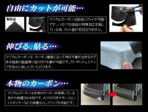 ハセプロ CSGASZ-1 イグニス FF21S H28.2〜 マジカルカーボン サイドガーニッシュ ブラック カーボンシート